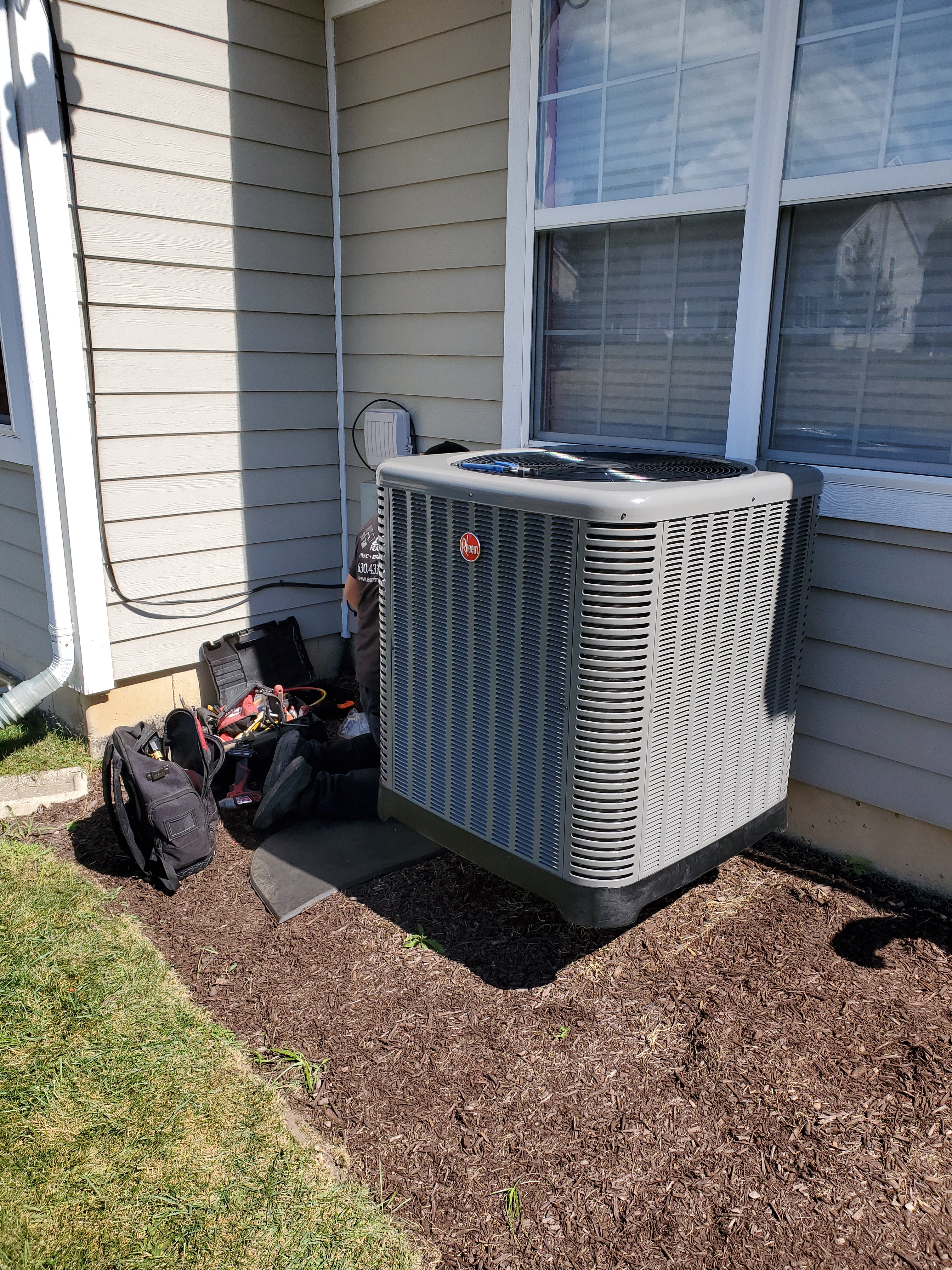 air conditioning installation in South Barrington, IL